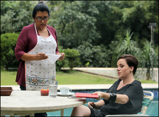 """Regina Case and Karine Teles in """"The Second Mother"""""""