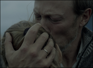 "Lars Mikkelsen and Sonia Suhl in ""When Animals Dream"""