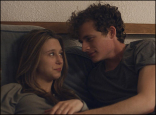 "Taissa Farmiga and Ben Rosenfield in ""6 Years"""