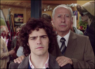 """Guillermo Francella and Peter Lanzani in """"The Clan"""""""