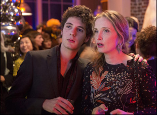 """Vincent Lacoste and Julie Delpy in """"Lolo"""""""