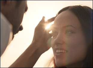 "Luke Wilson and Olivia Wilde in ""Meadowland"""