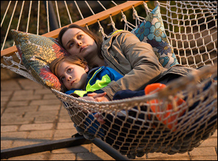"""Brie Larson and Jacob Tremblay in """"Room"""""""