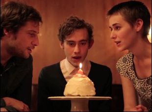 "Kentucker Audley, Olly Alexander and Joslyn Jensen in ""Funny Bunny"""