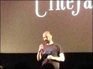Phil Blankenship at Cinefamily