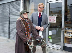 "Alex Jennings and Maggie Smith in ""The Lady in the Van"""