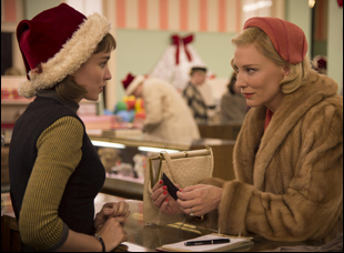"Rooney Mara and Cate Blanchett in ""Carol"""