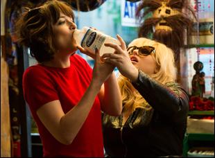 "Dakota Johnson and Rebel Wilson in ""How to be Single"""