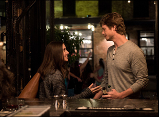 "Alison Brie and Anders Holm in ""How to Be Single"""