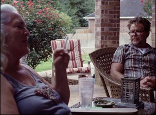 """Bill Wise and Krisha Fairchild in """"Krisha"""""""