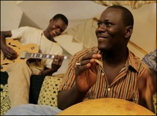 """Songhoy Blues in """"They Will Have to Kill Us First"""""""