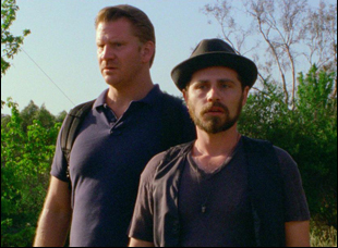 """Dash Mihok and Rider Strong in """"Too Late"""""""