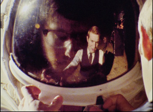 "A scene from Matt Johnson's ""Operation Avalanche"""