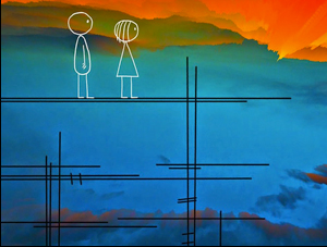"Don Hertzfeldt's ""World of Tomorrow"""