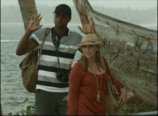 "Jay Ellis and Miranda Bailey in ""Like Cotton Twines"""