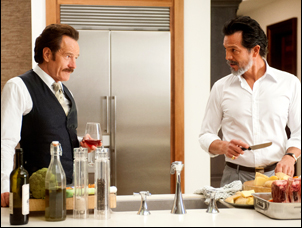 "Bryan Cranston and Benjamin Bratt in ""The Infiltrator"""