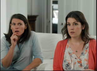 """Clea Duvall and Melanie Lynskey in """"The Intervention"""""""