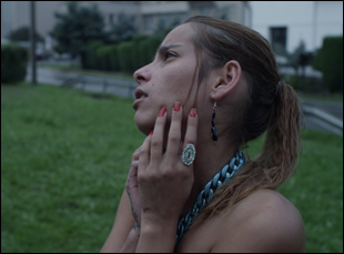 "Klaudia Dudova in ""We Are Never Alone"""