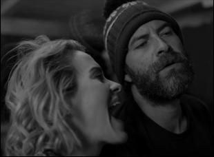 "Sarah Paulson and Mark Duplass in ""Blue Jay"""