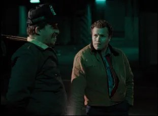 "Michael Rooker and Tom Towles in ""Henry: Portrait of a Serial Killer"""