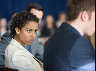 """Gugu Mbatha-Raw in """"The Whole Truth"""""""