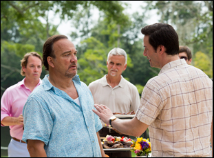 "Jim Belushi and Keanu Reeves in ""The Whole Truth"""