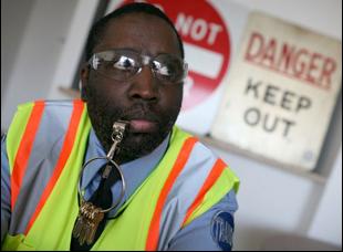 """Darius McCollum in """"Off the Rails"""""""