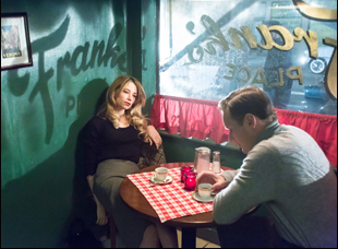 "Haley Bennett and Patrick Wilson in ""A Kind of Murder"""