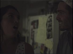 """Julia Bales and Jim Cummings in """"Us Funny"""""""