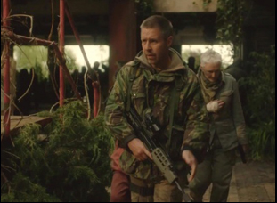"""Paddy Considine in """"The Girl With All The Gifts"""""""