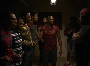 "A scene from Gerard McMurray's ""Burning Sands"""