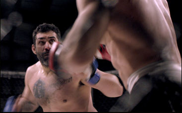 "Joe Carman in ""Cage Fighter"""