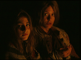 "Sophia Mitri Schloss and Katherine Moenning in ""Lane 1974"""