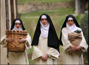 "Aubrey Plaza, Kate Micucci and Alison Brie in ""The Little Hours"""