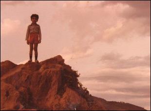 "A scene from Arshad Khan's ""Abu"""