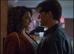 "Jenny Slate and Finn Wittrock in ""Landline"""