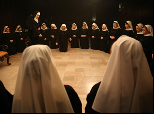 "A scene from Maggie Betts' ""Novitiate"""