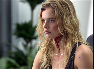 "Samara Weaving in ""Mayhem"""