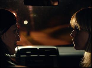 """Lena Hall and Mena Suvari in """"Becks"""""""