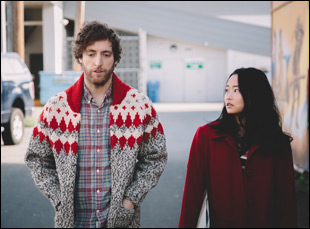 "Thomas Middleditch and Diana Bang in ""Entanglement"""