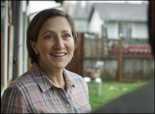 "Edie Falco in ""Outside In"""