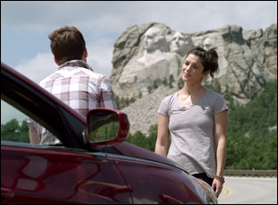 "Ryan Caraway and Kelsey Siepser in ""West of Her"""