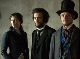 "Vicky Krieps, August Diehl and Stefan Konarske in ""The Young Karl Marx"""