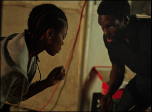 "Elvire Emanuelle and Yahya Abdul-Mateen in ""First Match"""