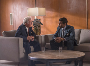 "Martin Sheen and Chiwetel Ejiofor in ""Come Sunday"""