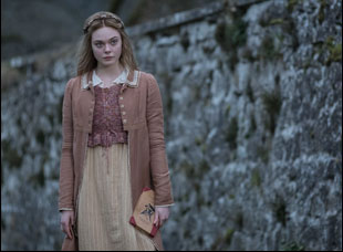 "Elle Fanning in ""Mary Shelley"""