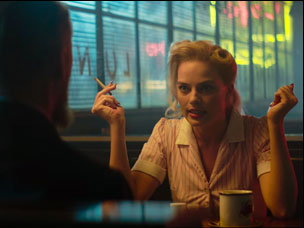 "Margot Robbie in ""Terminal"""