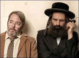 """Geza Rohrig and Matthew Broderick in """"To Dust"""""""