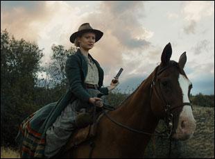 """Mia Wasikowska in """"Damsel"""""""