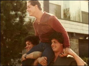 "Bobby Shafran, David Kellman and Eddy Galland in ""Three Identical Strangers"""